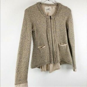 Anthropologie Angel Of The North Envarila Jacket
